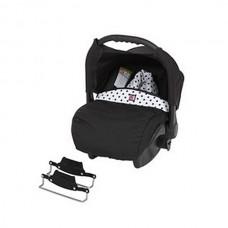 Tutek Car seat for Tambero Black and White APD01
