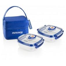 Miniland Комплект кутии Hermifresh син