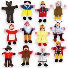 Andreu Toys Кукли за пръсти 12 броя