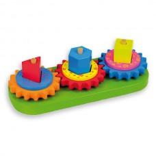 Andreu Toys Играчка Низанка със зъбни колела
