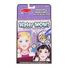 Melissa & Doug Water Reveal Pad - Makeup & Manicures