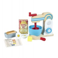 Melissa & Doug Wooden Mixer Set