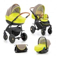 Tutis Baby stroller Zippy Orbit 3 in 1 Yellow Green