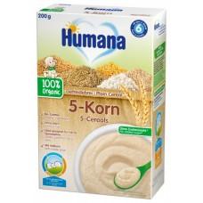 Humana Безмлечна каша 5 зърна