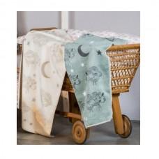 David Fussenegger Panda Bamboo Blanket