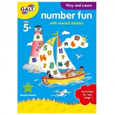 Galt Number Fun Sticker Book