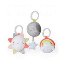 Skip Hop Silver Lining Cloud Ball Trio Baby Toy