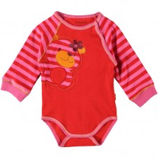 Fixoni Baby Bodysuit Red