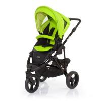 ABC Design Бебешка количка Cobra Black Lime