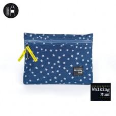 Walking mum Stylish clutch for infant's belongings