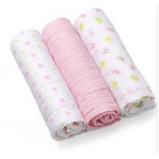 BabyOno Muslin Nappies Super Soft 3 pcs