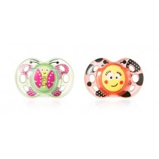 Tommee Tippee Baby pacifier FUN STYLE 6-18m, 2pcs
