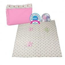 Minene Активити одеяло розово с цветя