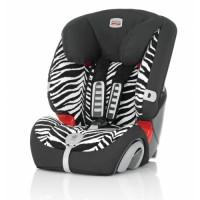 Britax Столче за кола EVOLVA 1-2-3 plus (9-36кг) Smart Zebra
