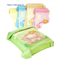 Newborn Baby Blanket 80 x 110 cm