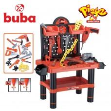 Buba Детски комплект куфар с инструменти - работилница Bricolage