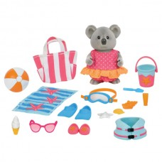 Battat Li'l Woodzeez Beach Set