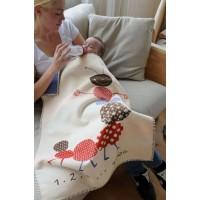David Fussenegger Бебешко одеяло Lena 75х100 Стоножка