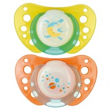 Chicco Silicone Physio Air Night Soother 12m+