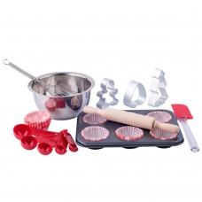 Woody Kitchen set Baking muffins