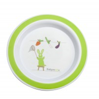 Babymoov Plate Green