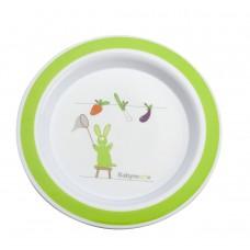 Babymoov Чинийка за хранене Зелена