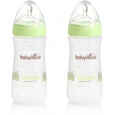 Babymoov К-т 2 броя шишета Bioteet Almond 330мл зелени