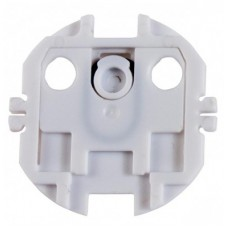 Alecto Outlet Protector, 10 pieces, White