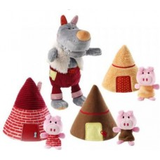 Lilliputiens The Wolf and the three little pigs