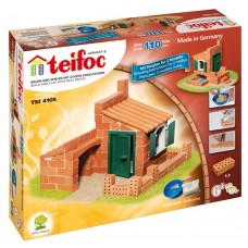 Teifoc Brick House Building Set Build 1 of 2 House Designs
