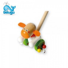 Beluga Wooden push toy Sheep