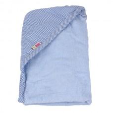 Minene Хавлиена кърпа с качулка синя