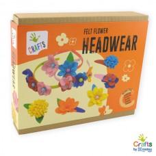 Andreu Toys Felt Flower Headwear