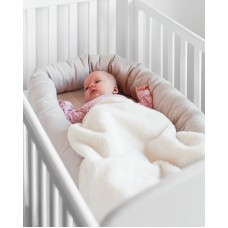 BabyDan Възглавница Cuddle Nest Light Grey