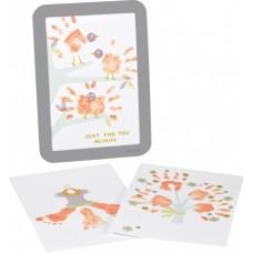 Baby Art Рамка за отпечатък с боички за Денят на майката
