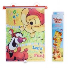Bam Bam Универсални ролкови щори за кола 2 броя, Winnie the Pooh-Disney