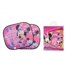Bam Bam Универсални щори за кола 2 броя, Minnie-Disney
