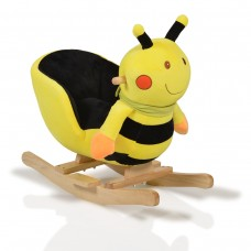 Cangaroo Plush Rocking Animal Bee