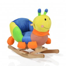 Cangaroo Plush Rocking Animal Caterpillar