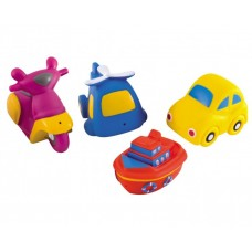 Canpol Bath toys Happy Vehicles