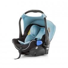 Chipolino Car seat w/ adaptors Angel blue mist, group 0+