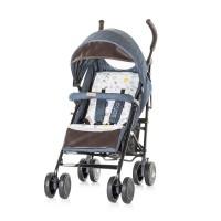 Chipolino Baby stroller Sofia  indigo cotton jeans