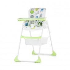 Chipolino High Chair 2 in 1 Regalo kiwi