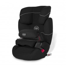 Cybex Aura Fix Pure Black (9-36 кг)