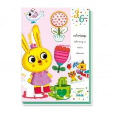 Djeco Детски комплект за оцветяване 4 сезона