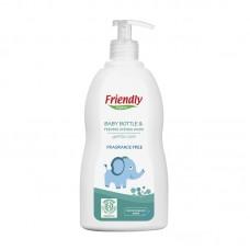 Friendly Organic Препарат за ръчно измиване на бебешки шишета и съдове 300 мл
