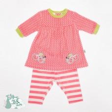 F.S.Baby Baby Dress + leggings