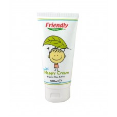 Friendly Organic Крем против подсичане с органично масло от ший 100 мл
