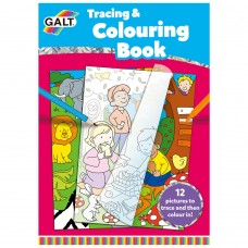 Galt Tracing & Colouring Book