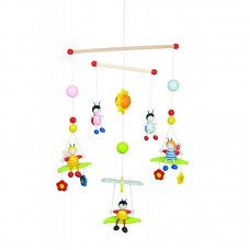 Goki Mobile Decoration for Children's Room Bees and Beetles